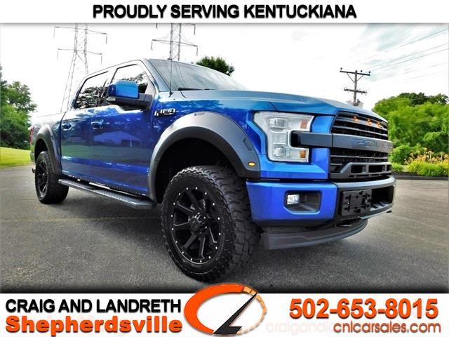 2017 Ford F-150 Lariat Super Crew 4WD Roush