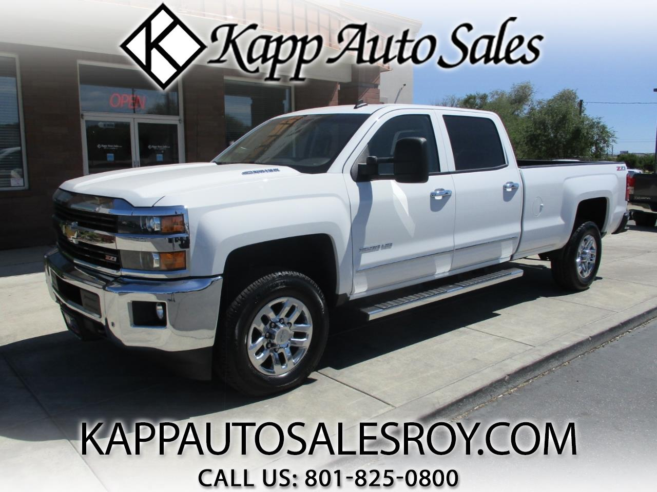 2015 Chevrolet Silverado 3500HD LTZ Crew Cab Long Box 4WD