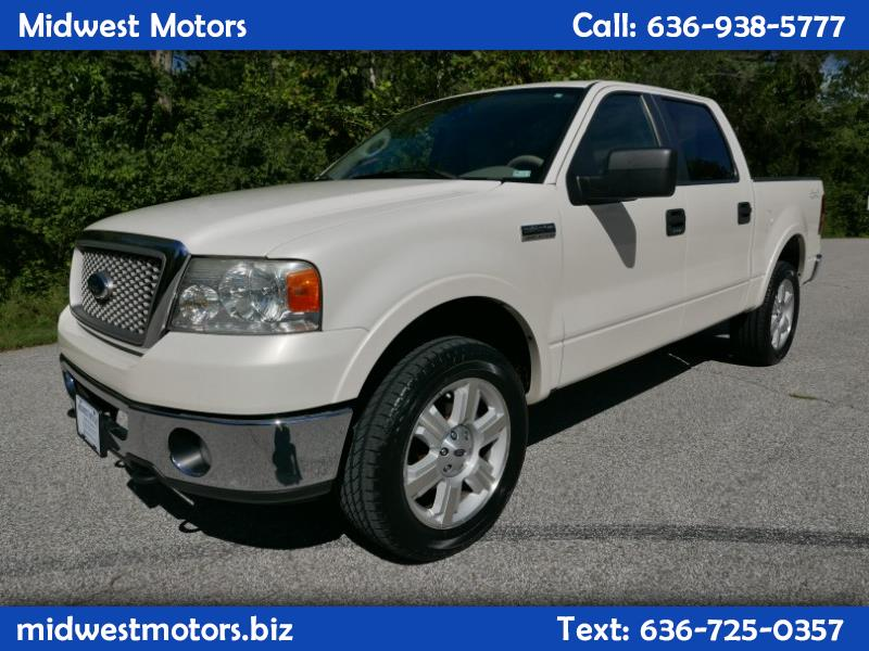 "2008 Ford F-150 4WD SuperCrew 145"" Lariat"