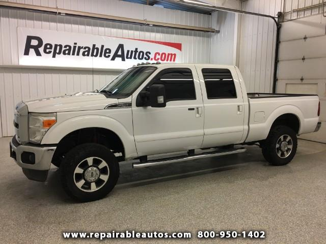 2012 Ford F-250 SD LARIAT 4x4 Repairable Water Damage, NON REPAIRABLE
