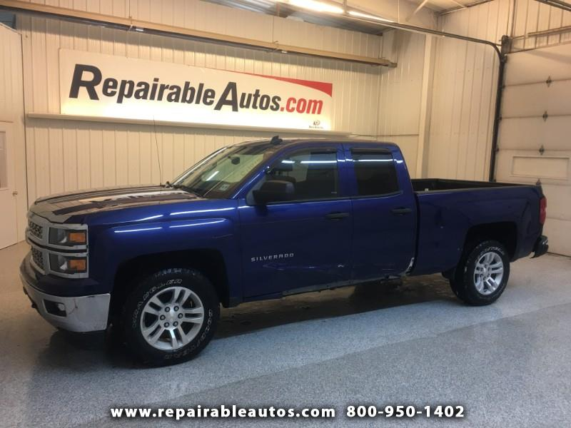 2014 Chevrolet Silverado 1500 4WD Repairable Side Damage