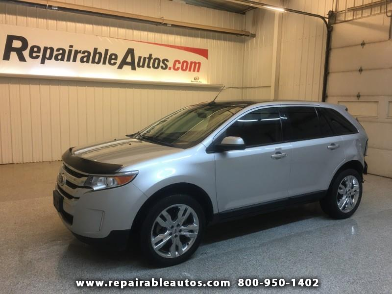 2014 Ford Edge SEL AWD Repairable Rear Damage