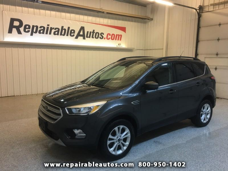 2018 Ford Escape SE AWD Repairable Hail Damage