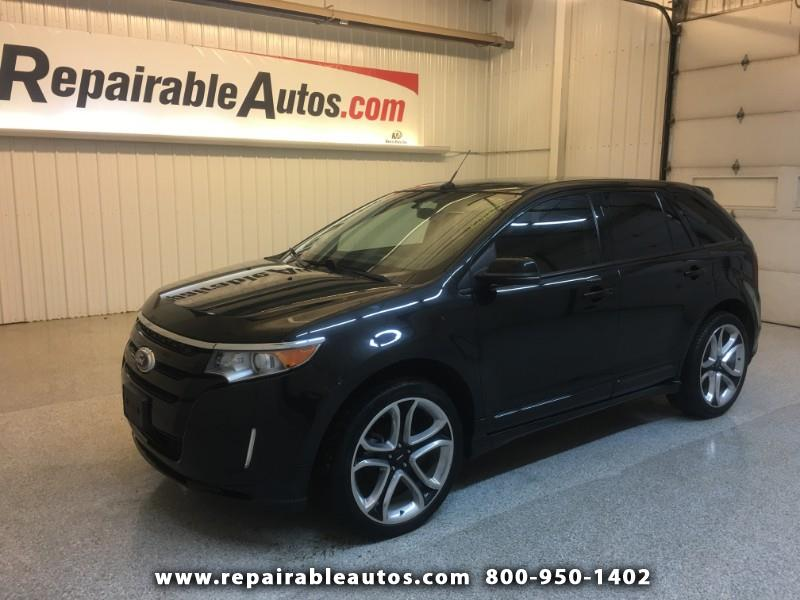 2013 Ford Edge Sport AWD Repairable Rear Damage