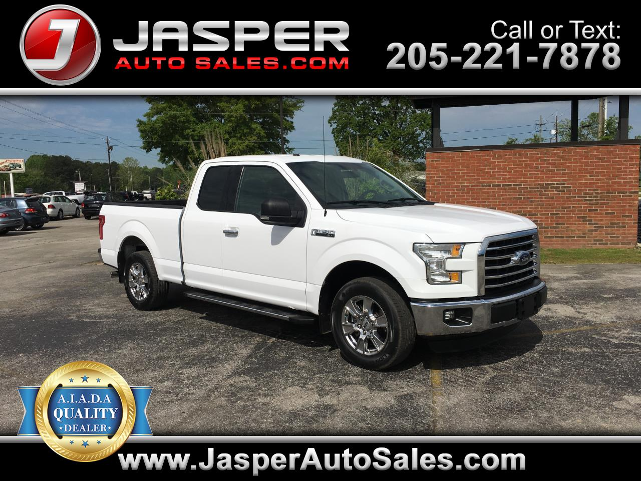 2015 Ford F-150 XLT SuperCab 2WD
