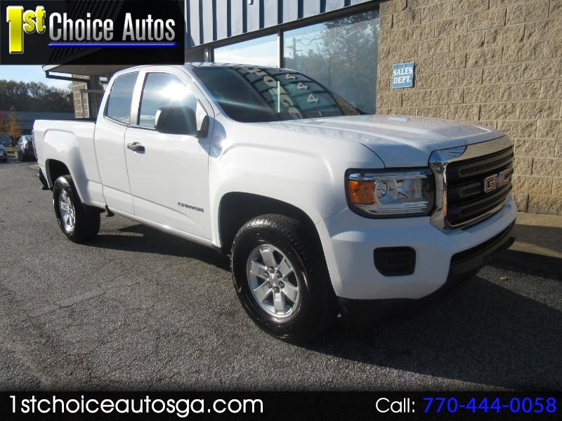 2018 GMC Canyon 2WD Ext Cab 128.3""