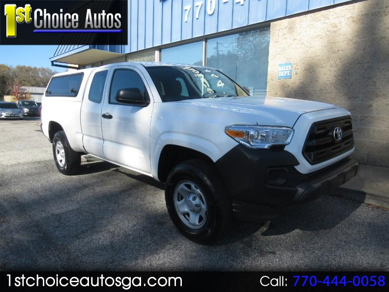 2016 Toyota Tacoma 2WD Access Cab I4 AT SR5 (Natl)