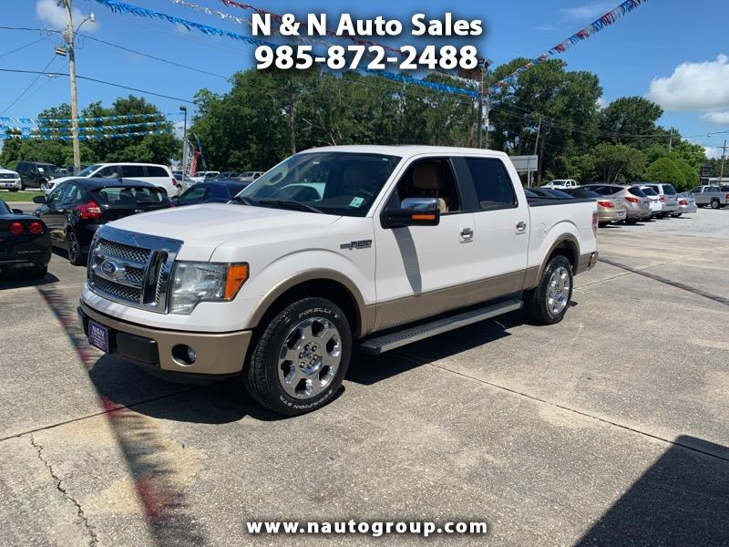2011 Ford F-150 Lariat 2WD SuperCrew 5.5' Box