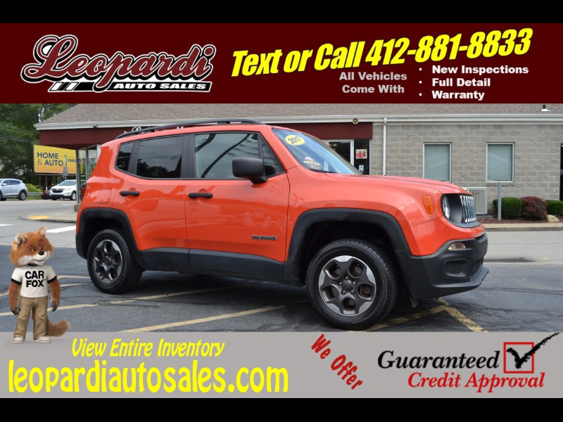 2017 Jeep Renegade Sport 4x4