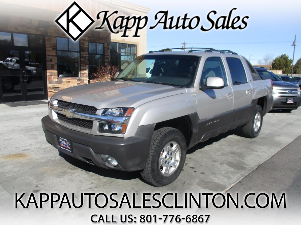 "2005 Chevrolet Avalanche 1500 5dr Crew Cab 130"" WB 4WD Z71"
