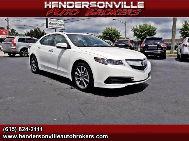 2015 Acura TLX 9-Spd AT