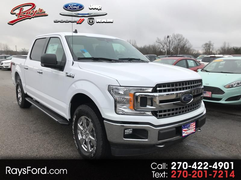 "2019 Ford F-150 SuperCrew 150"" XLT 4WD"