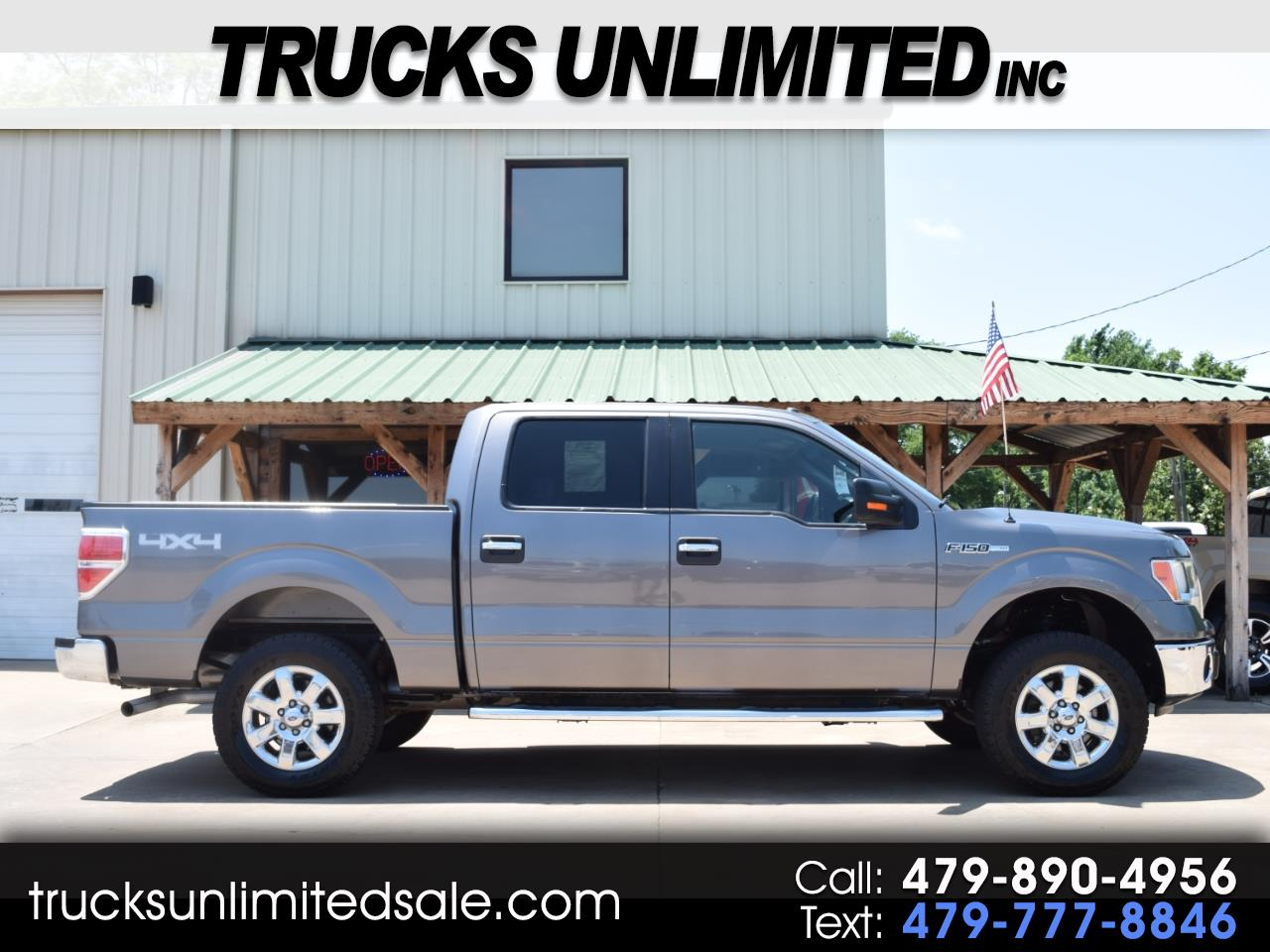 2014 Ford F-150 XLT SuperCrew 5.5 Ft. Bed 4WD