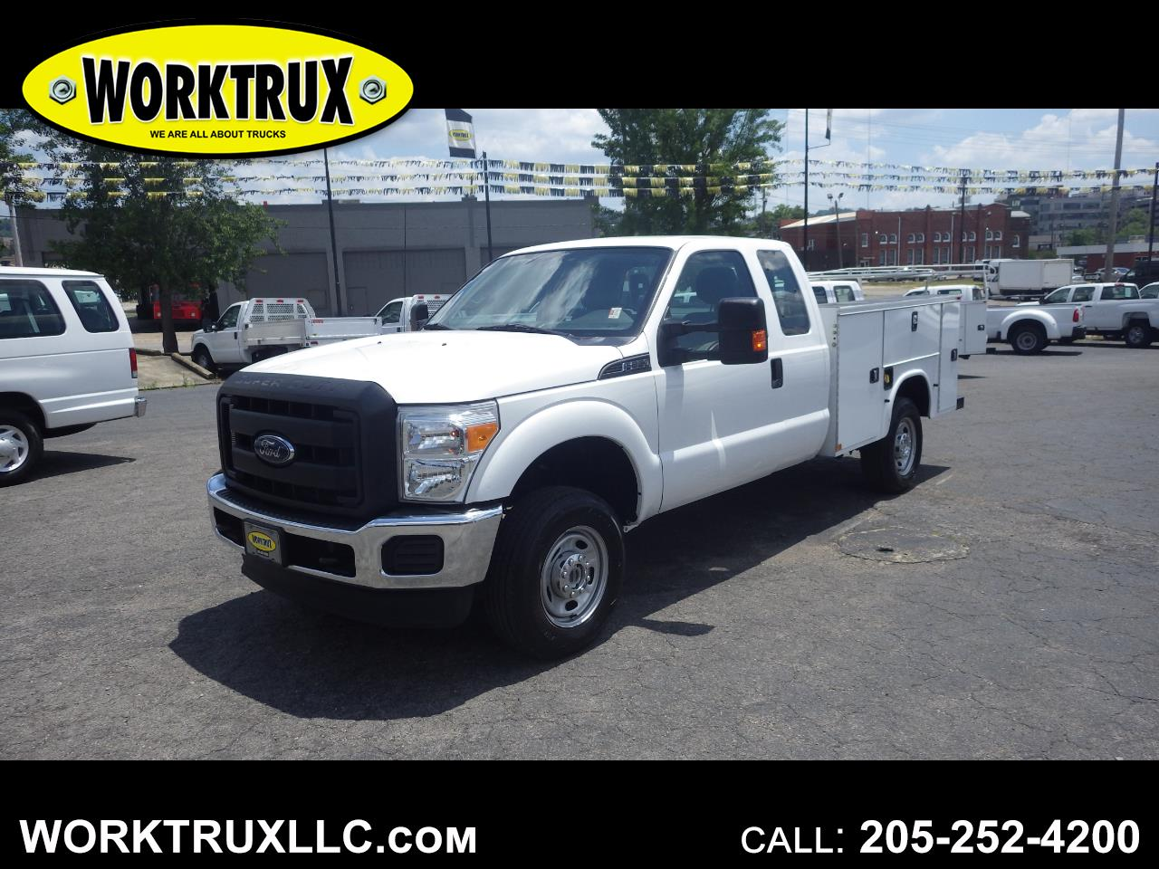 "2016 Ford Super Duty F-350 SRW 4WD SuperCab 158"" XL"