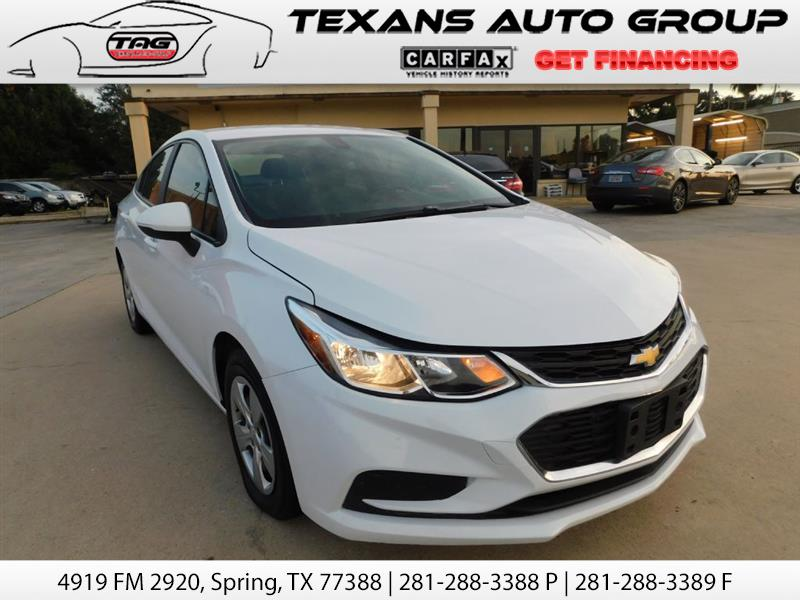 2016 Chevrolet Cruze SEDAN 60K MILES BACK UP