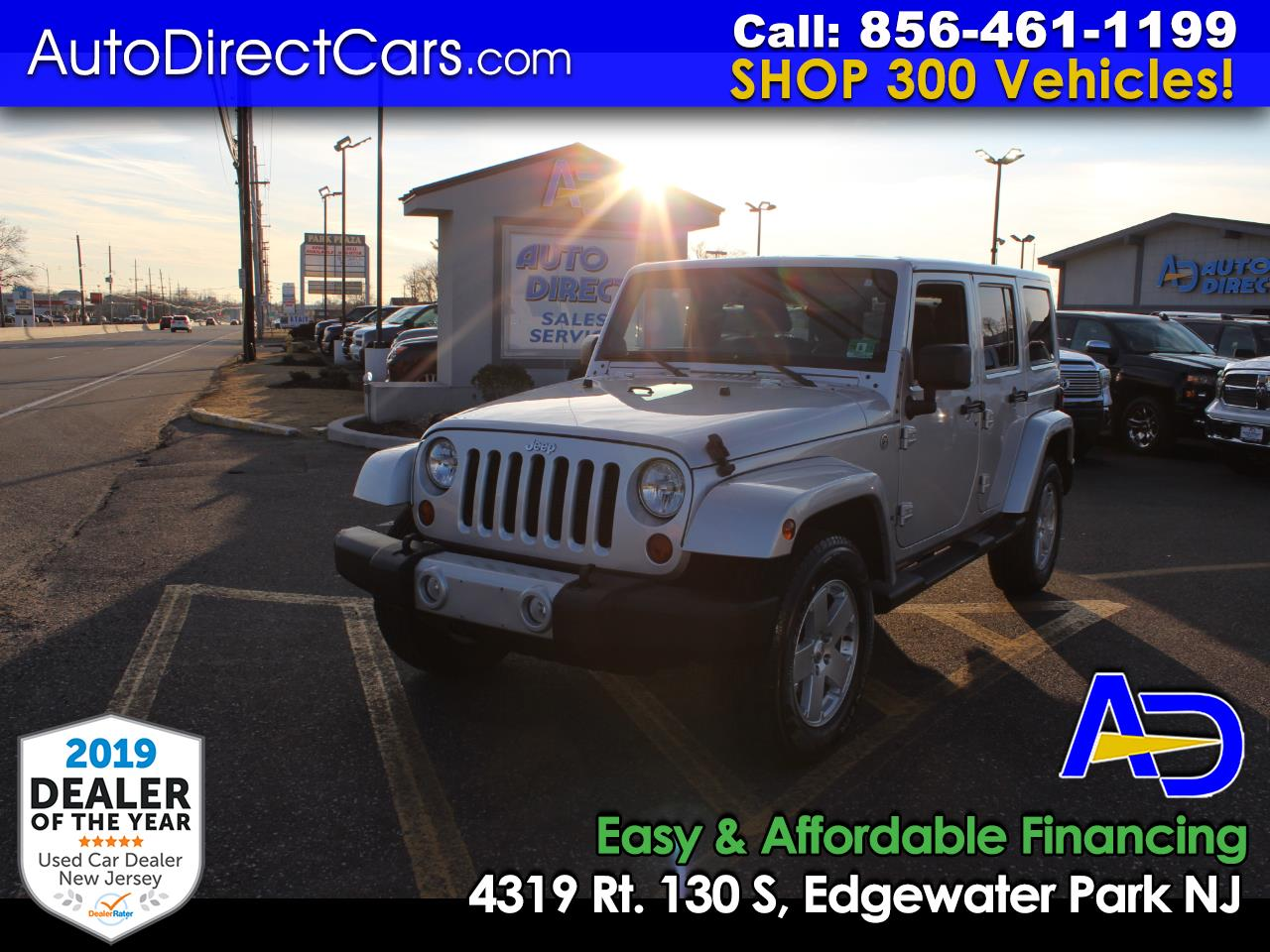 2012 Jeep Wrangler Unlimited 4WD 4dr Sahara