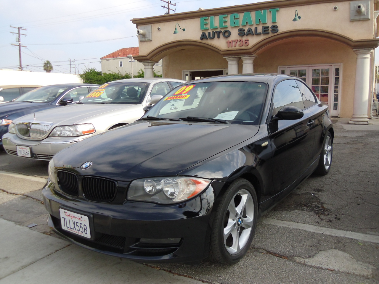 2009 BMW 1 Series 2dr Cpe 128i SULEV