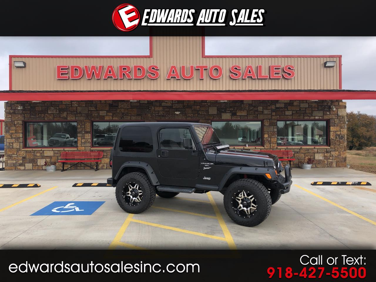2001 Jeep Wrangler 4WD 2dr Sport