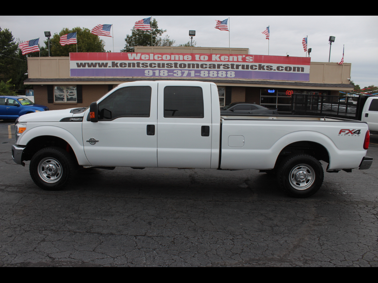 2015 Ford F-250 SD XL FX4 Crew Cab 4WD 8 ft. Long Bed