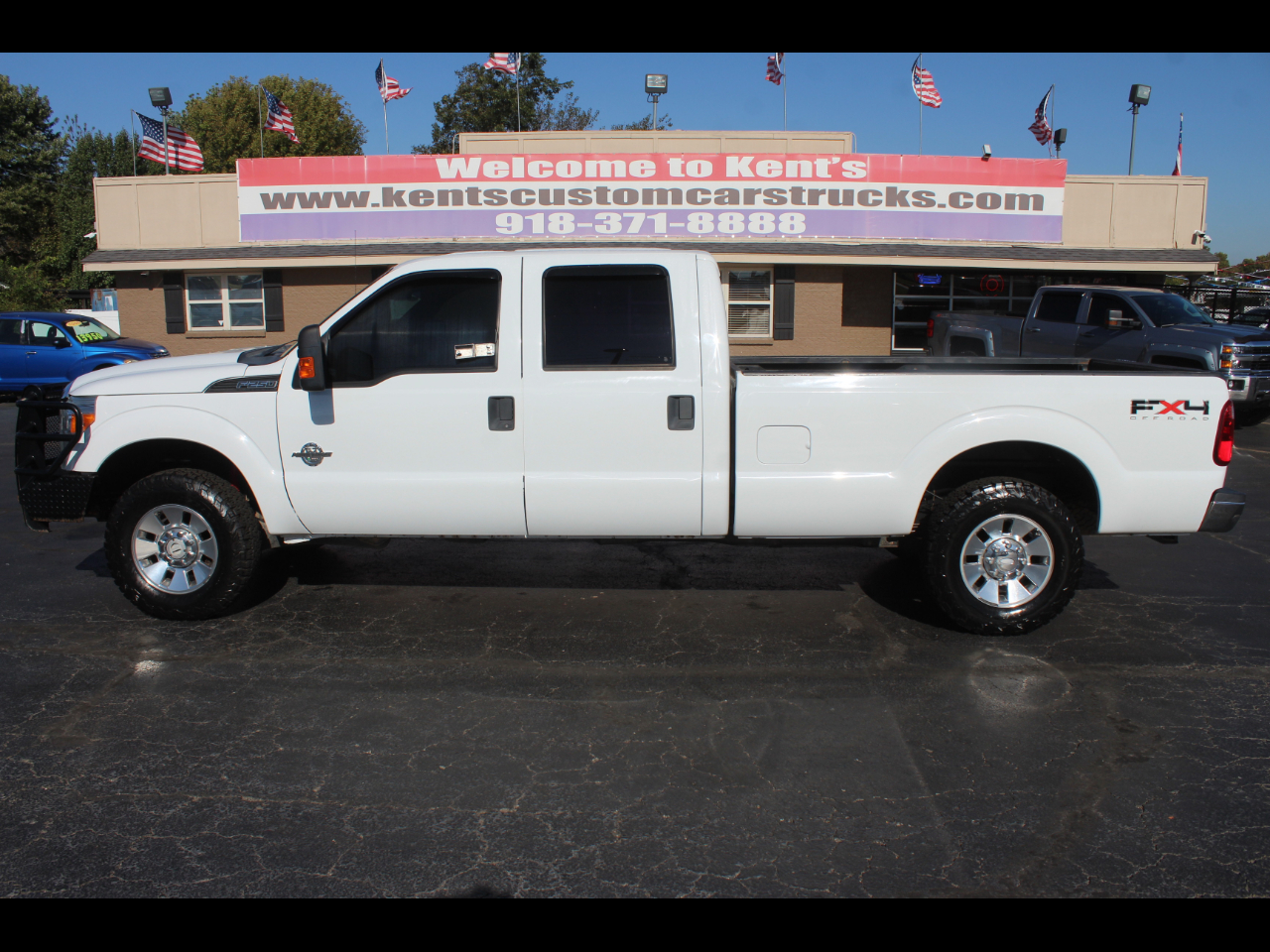 2011 Ford F-250 SD XL FX4 Crew Cab 4WD 8ft. Long Bed