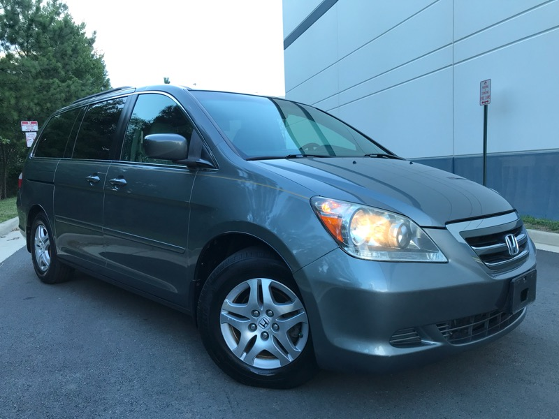 2007 Honda Odyssey EXL Heated Leather Seats Moon Roof