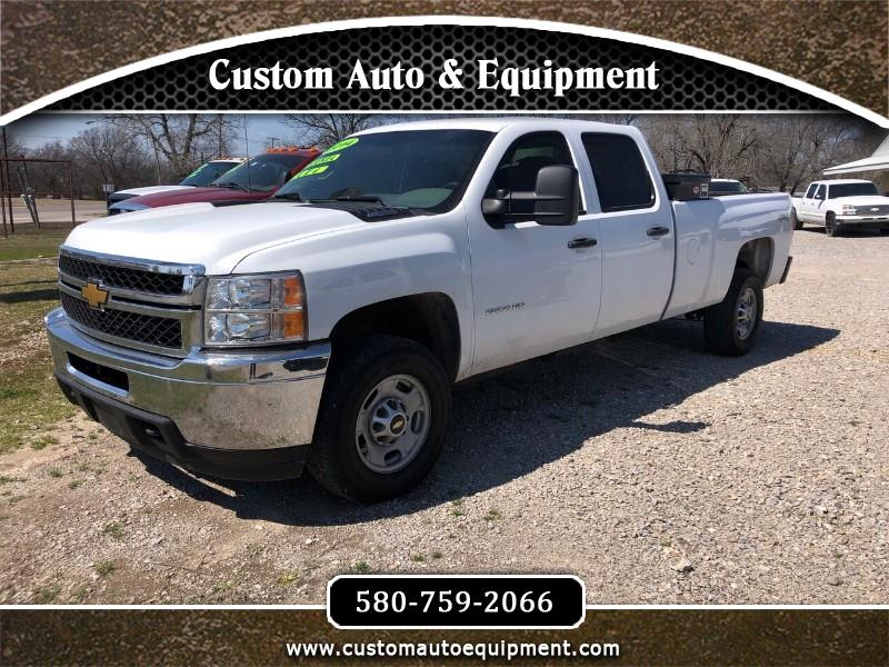 2014 Chevrolet Silverado 2500HD Work Truck Crew Cab Long Box 4WD