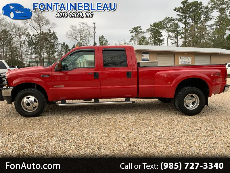 2004 Ford F-350 SD XLT Crew Cab Long Bed DRW 4WD