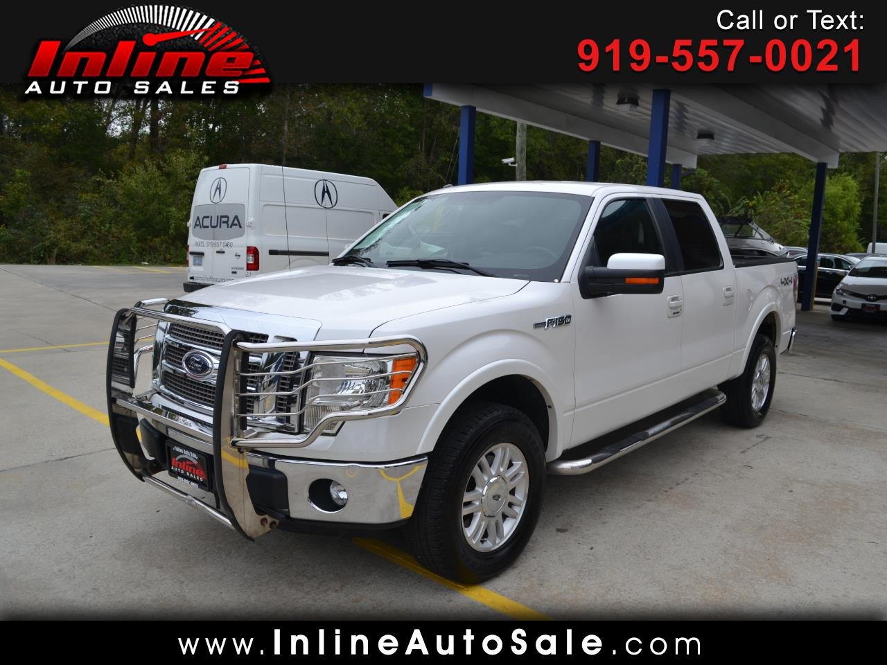 "2012 Ford F-150 4WD SuperCab 145"" Lariat"