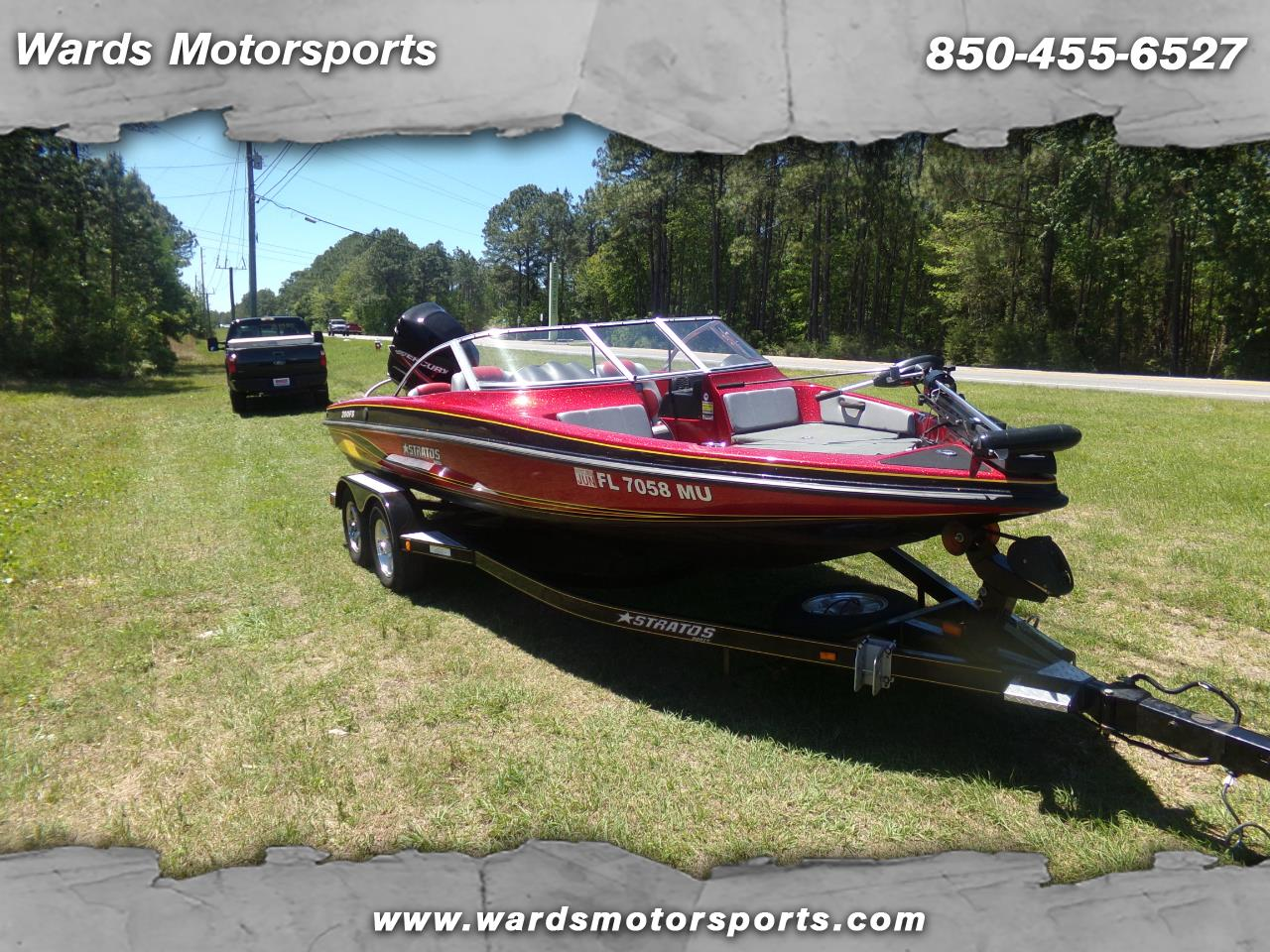 2005 Stratos Bass Boat