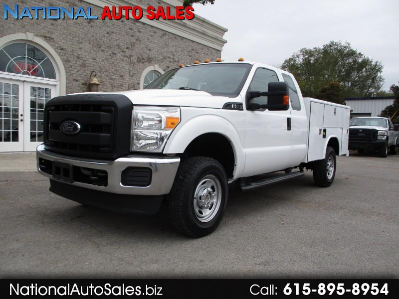 2012 Ford F-350 SD XL SuperCab Long Bed 4WD Utility