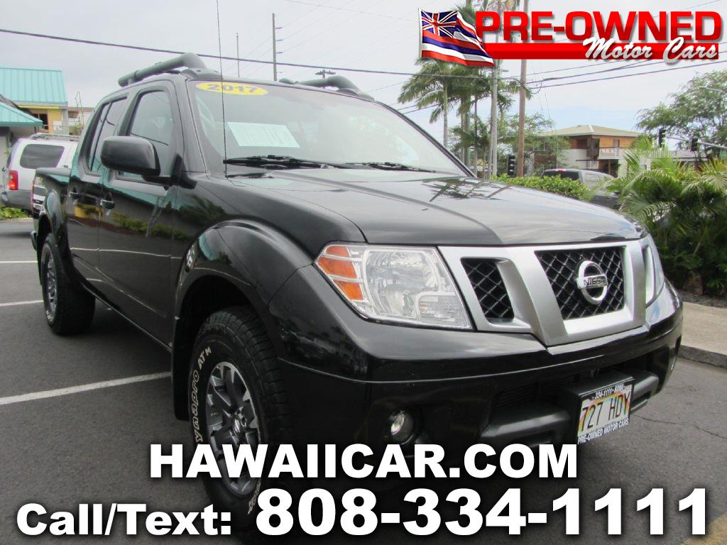 2017 Nissan Frontier SL Crew Cab 5AT 4WD