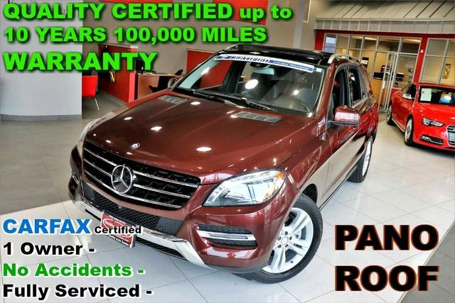 2015 Mercedes-Benz M-Class ML 350 4MATIC - CARFAX Certified 1 Owner - No Acci