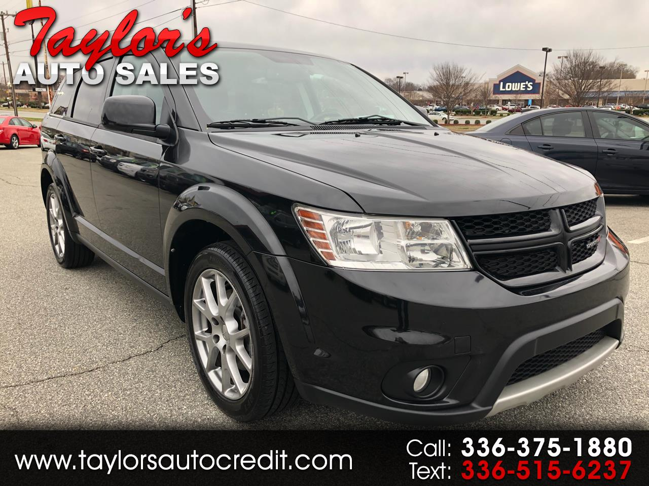 2012 Dodge Journey FWD 4dr R/T