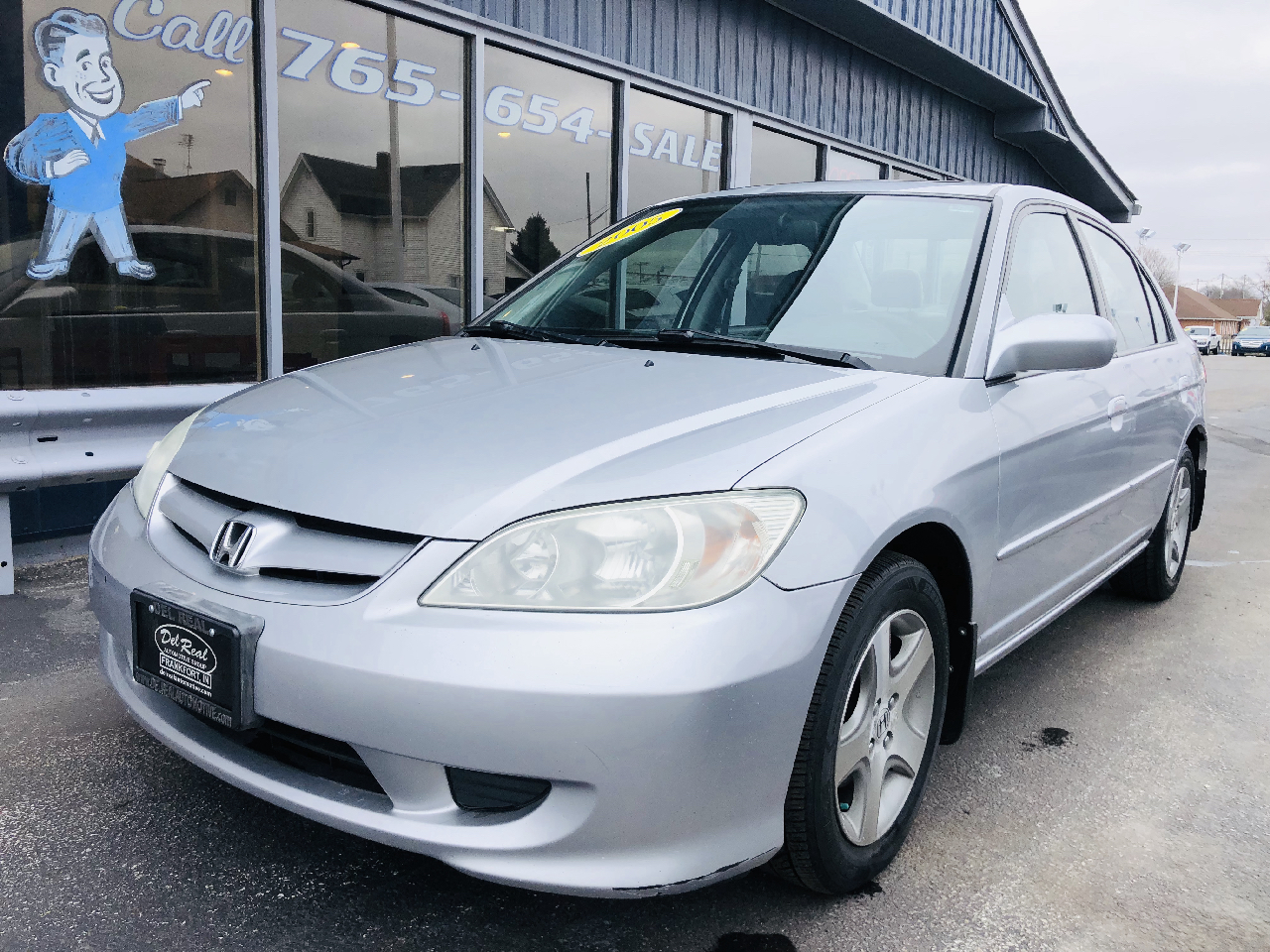 2005 Honda Civic EX Sedan AT w/ Front Side Airbags