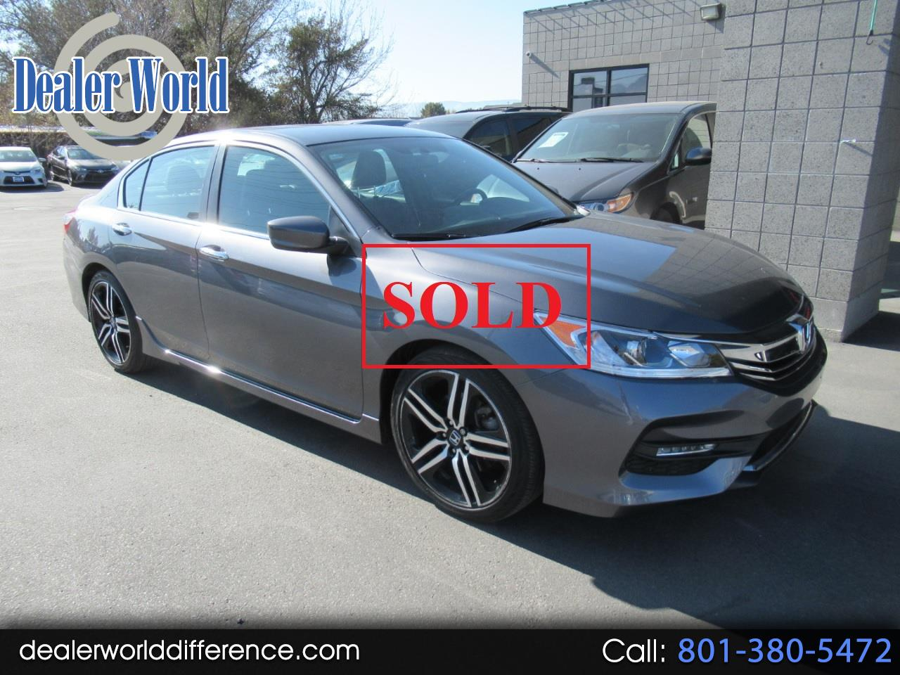 2017 Honda Accord Special Edition Sedan
