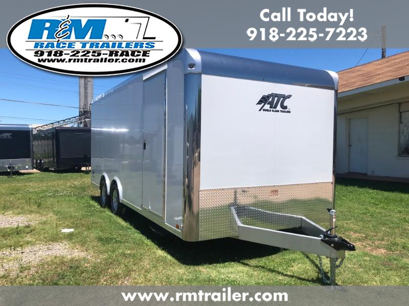 2020 ATC Raven 20FT ENCLOSED CAR TRAILER