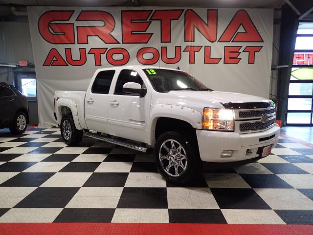 2013 Chevrolet Silverado 1500 LTZ CREW 4X4 NAVIGATION/BACK CAM! LEATHER! 37K!