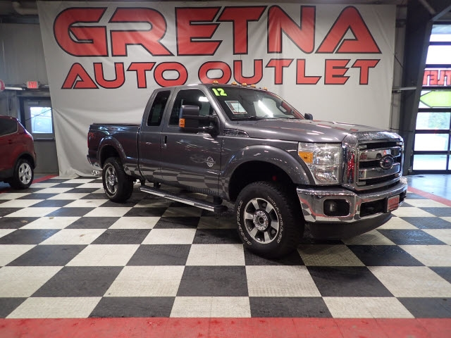 2012 Ford Super Duty F-250 SRW CREW CAB LARIAT 6.7L DIESEL EXTREMELY LOW MILES!!!