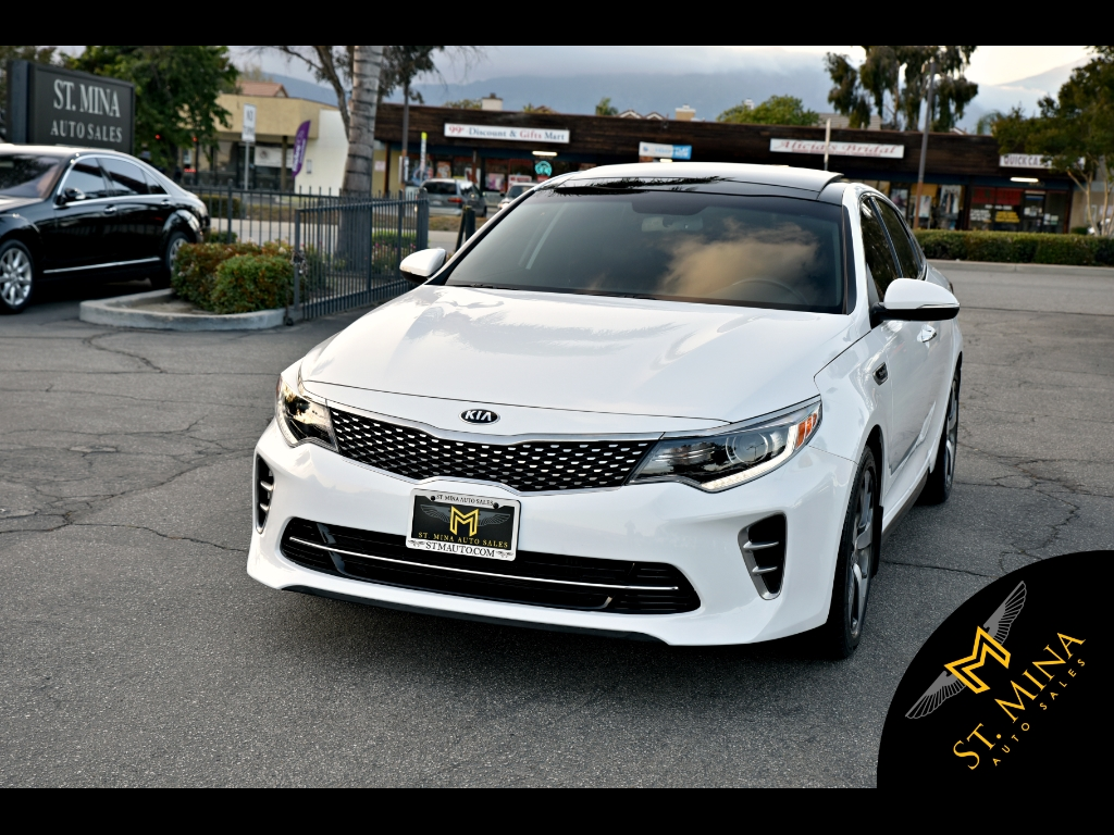 2016 Kia Optima SX Launch Edition Turbo