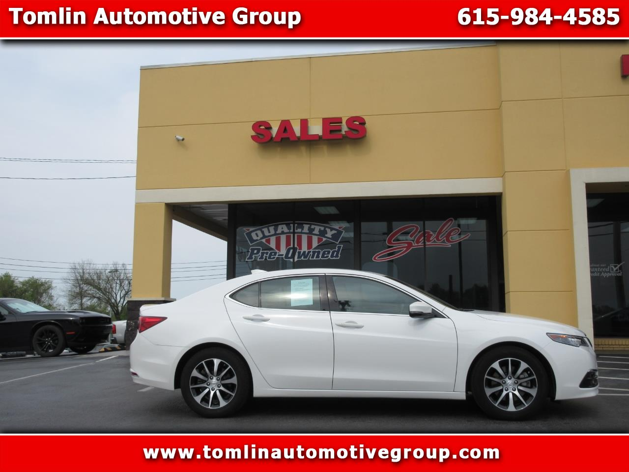 2016 Acura TLX 2.4L FWD w/Technology Pkg