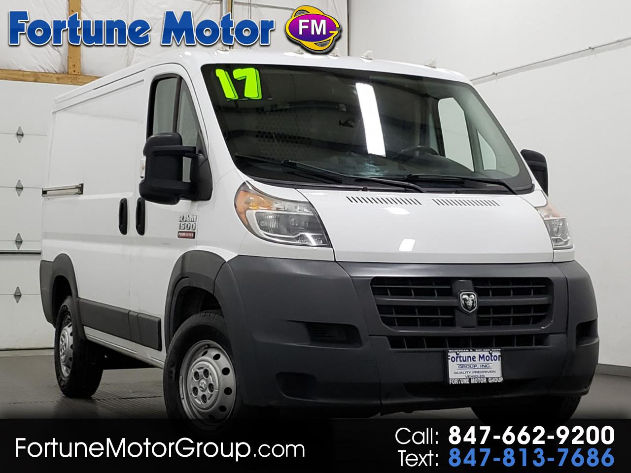 2017 RAM Promaster 1500 Low Roof Tradesman 118-in. WB