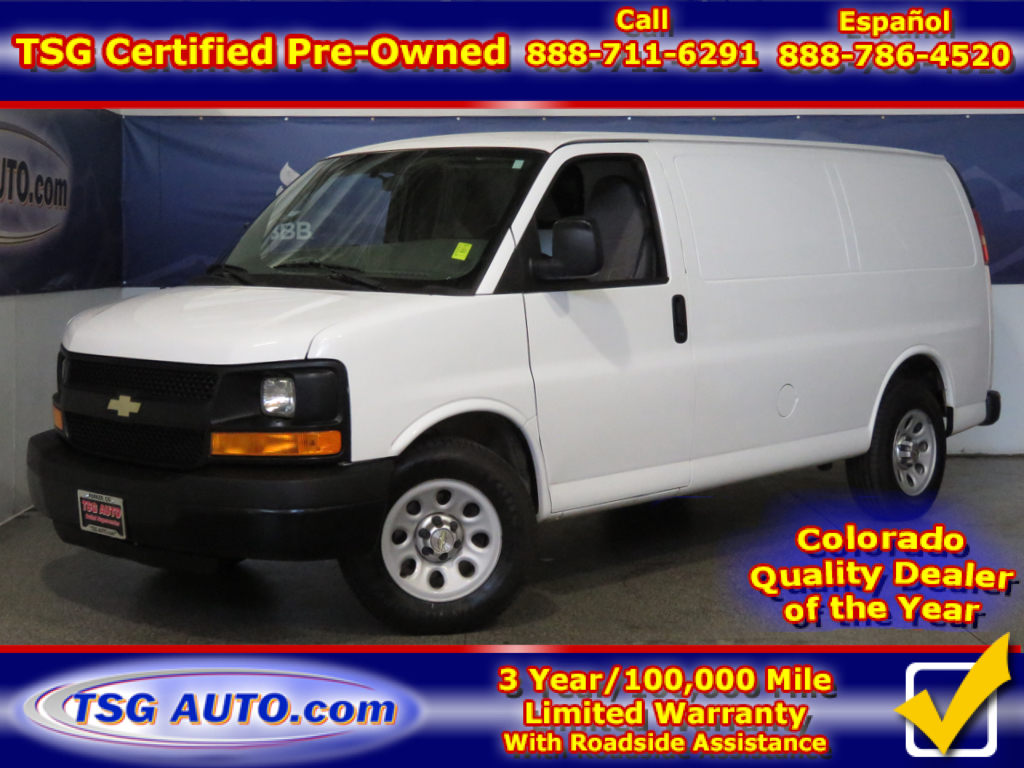 2014 Chevrolet Express 1500 4.3L V6 With Dividing wall behind front seats