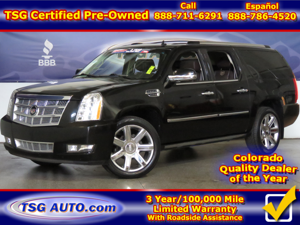 2010 Cadillac Escalade ESV Platinum 6.2L V8 4WD W/NAV Leather ThirdRow