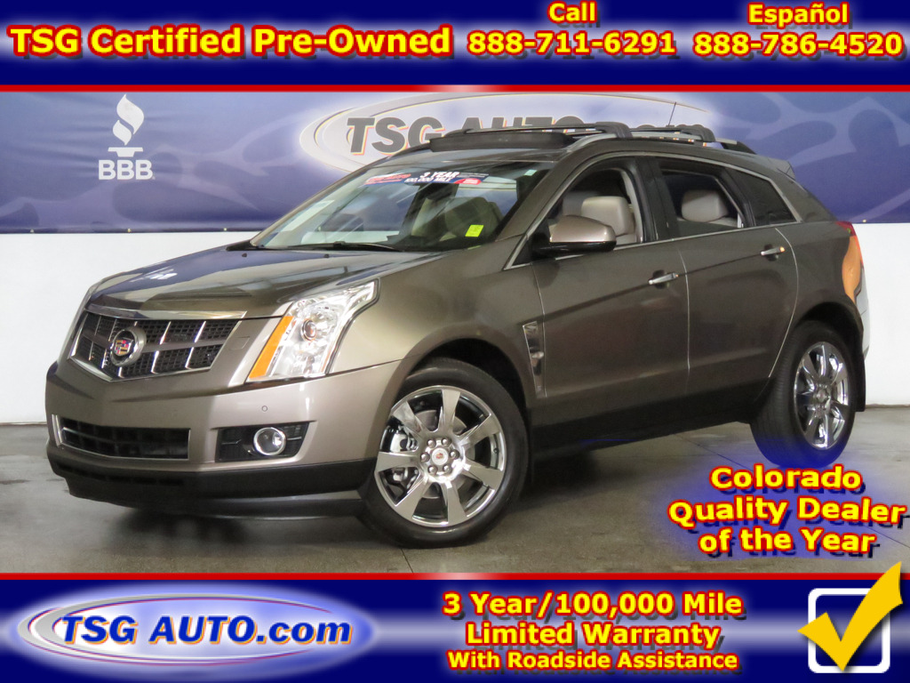 2012 Cadillac SRX Premium 3.6L V6 AWD W/NAV Leather