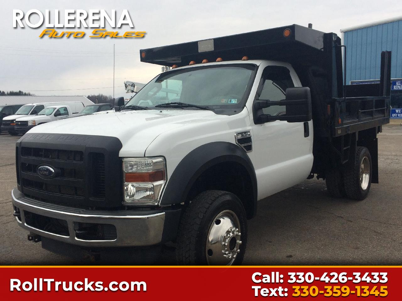 "2010 Ford Super Duty F-550 DRW 4WD Reg Cab 141"" WB 60"" CA XL"