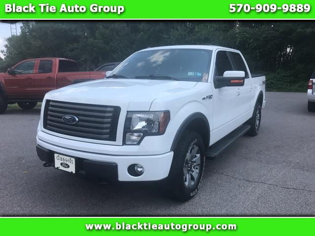 """2012 Ford F-150 SuperCrew 150"""" FX4 4WD"""