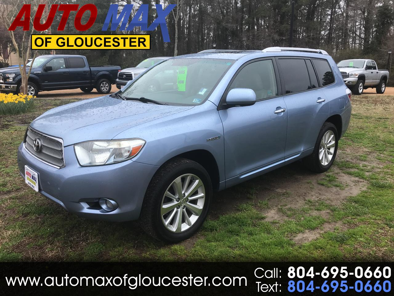 2008 Toyota Highlander Hybrid 4WD 4dr Limited w/3rd Row (Natl)