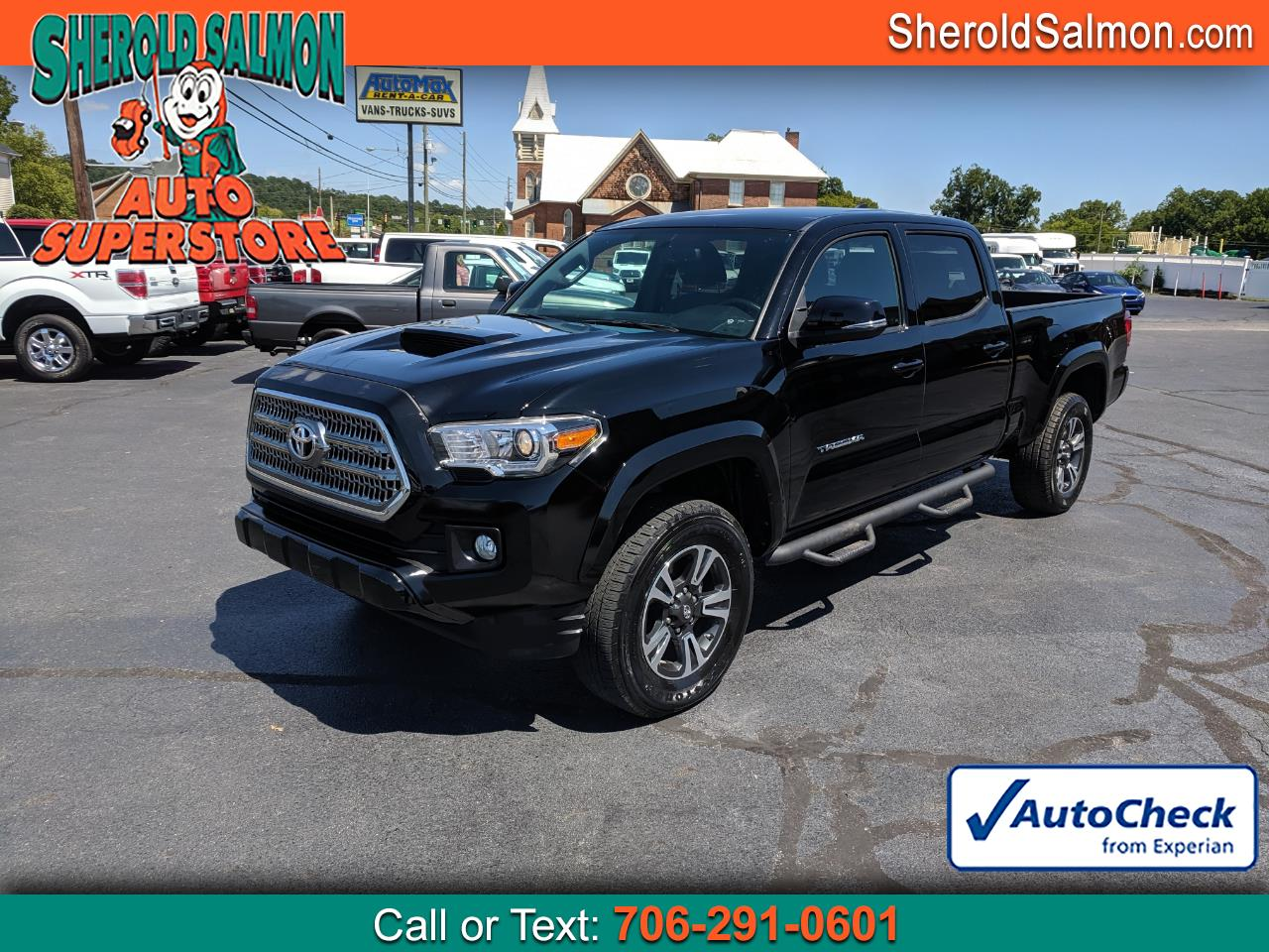 2016 Toyota Tacoma 4WD Double Cab LB V6 AT TRD Off Road (Natl)