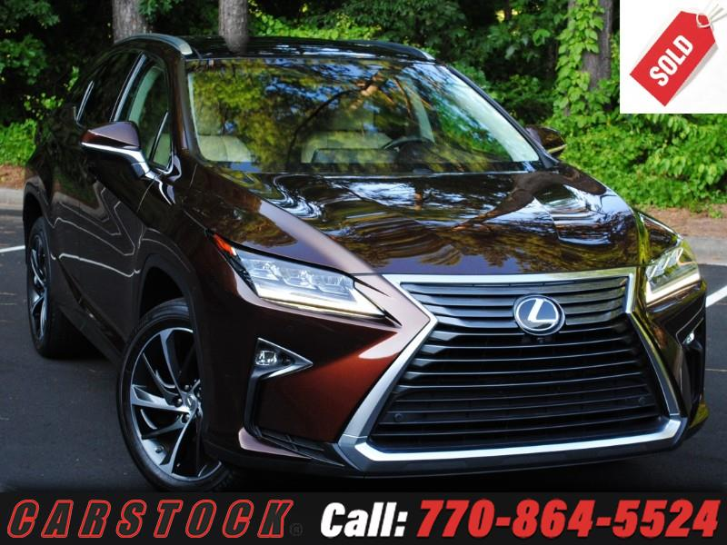 2016 Lexus RX 350 ULTRA LUX Safety+ HUD Mark Lev Pano Roof