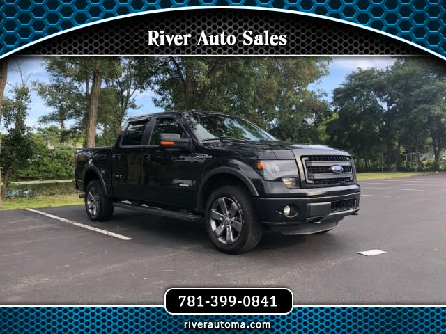 "2014 Ford F-150 4WD SuperCrew 157"" FX4"